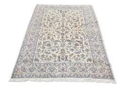 A PERSIAN NAIN CARPET