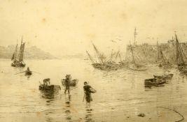 WILLIAM LIONEL WYLLIE (1851-1931), ST. MALO