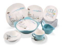 A GROUP OF MIDWINTER STYLECRAFT FASHION SHAPE TABLE WARES