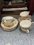 Six Royal Winton chintz teacups, saucers and tea plates (18)
