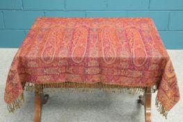 A large Paisley shawl