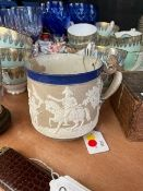 A rare stoneware mug