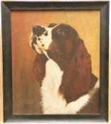 W.L. Growden, Head Study of a Dog
