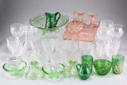 A quantity of glass