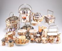 A quantity of Davenport Imari wares