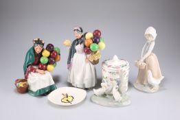 Royal Doulton, Nao and Minton porcelain
