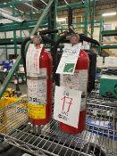 Fire extinguishers, 2pcs