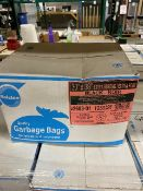 """Ralston 30"""" x 38"""" extra strong garbage bags, 125 bags per box, 27 boxes"""