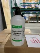 Healthcare Plus sanitizing hand gel, 6pcs per box, 11 boxes