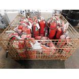 Fire Extinguishers (Qty: 25)
