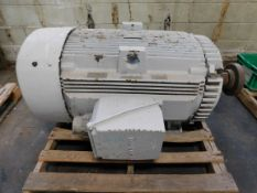 GE Electrical Motor. 250 HP. 460 V. 3 PH. 449T. 1790 RPM