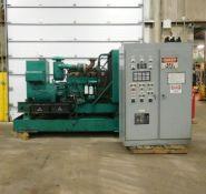 Onan 300.ODFM-17R/31121N Genset Diesel Generator. 3 Ph. 300 KW. 375 KVA. Comes w/ Control Cabinet.