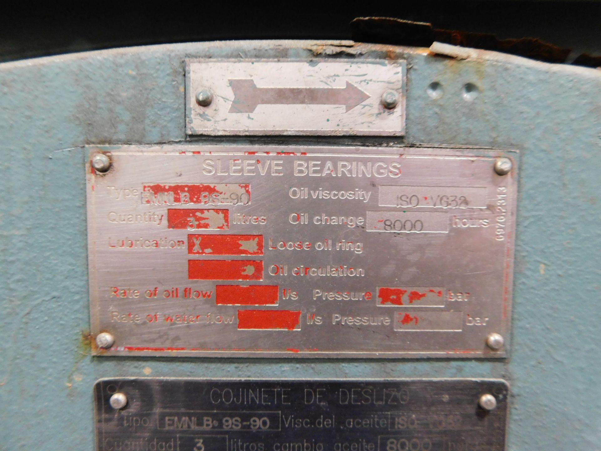Weg Induction Motor. 2750 HP. 3 Ph. 4000 V. 3582 RPM. 1PW24. MGP 8011. 60 Hz. - Image 7 of 7
