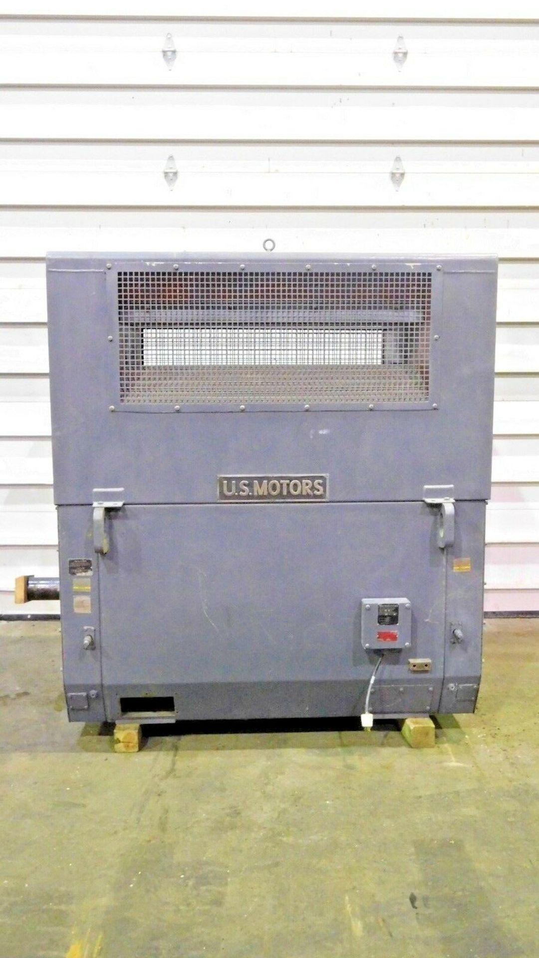 US Motors 600 HP Electric Motor. 890 RPM. 4000 V. 6809S. Type MS. 60 Hz. 3 Ph.