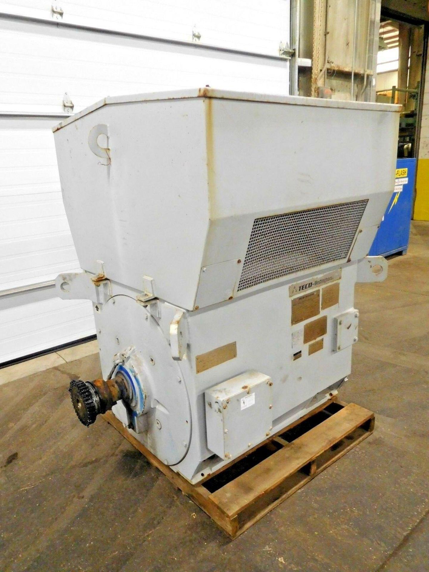 Westinghouse TECO 400 HP World Series Motor. 4000 V. 1187 RPM. 5808. WP2. 3 Ph. 60 Hz. - Image 2 of 4