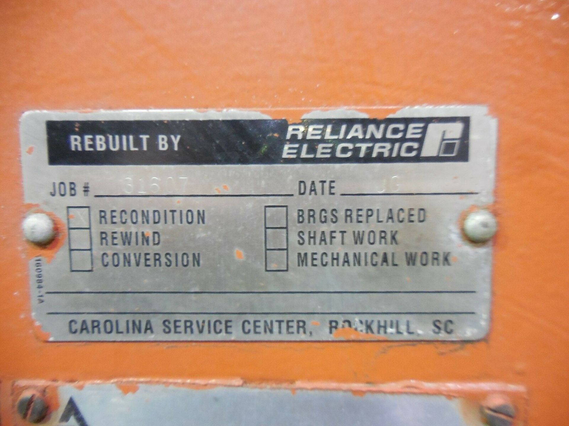 Allis Chalmers 3000 HP Induction Motor. 3572 RPM. 4000 V. Type ANW. 3 Ph. 60 Hz. - Image 5 of 6