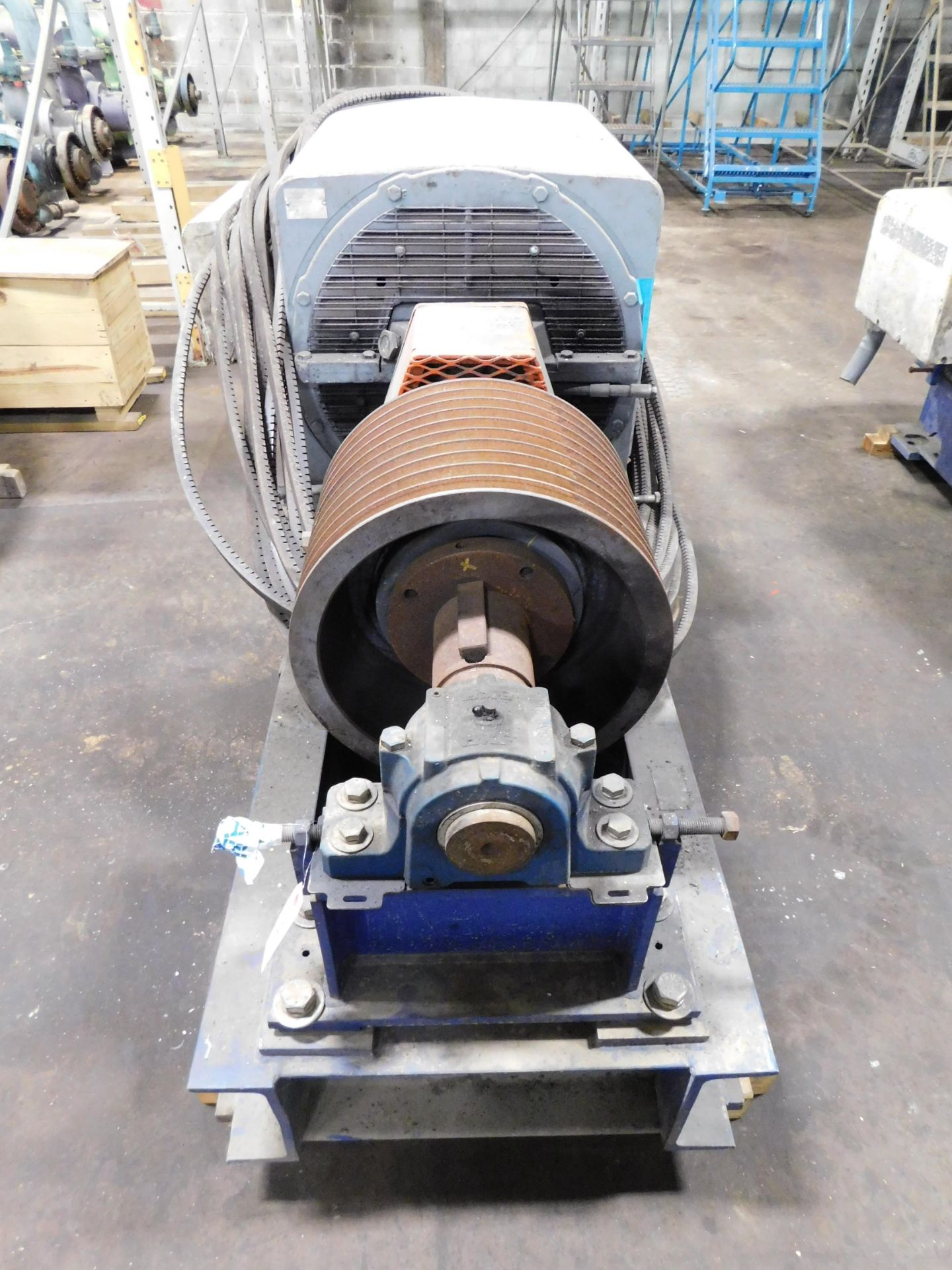 Teco Westinghouse Motor. 400 HP. 3 Ph. 1180 RPM. 4000 V. 60 Hz. 5808L. HSW1. - Image 3 of 7