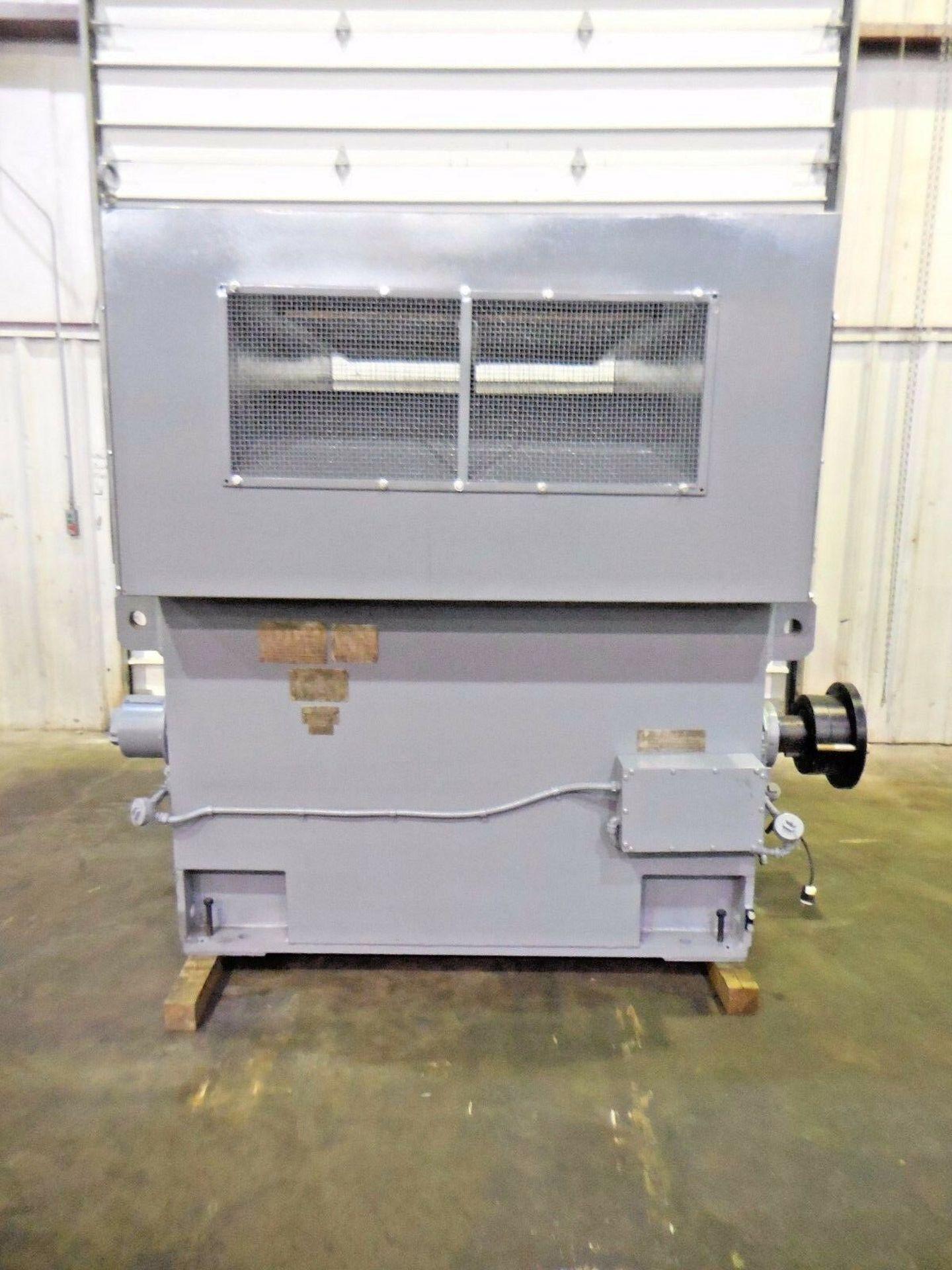 Westinghouse 2500 HP Induction Motor. 1190 RPM. 5614. 4000 V. 3 Ph. 60 Hz.