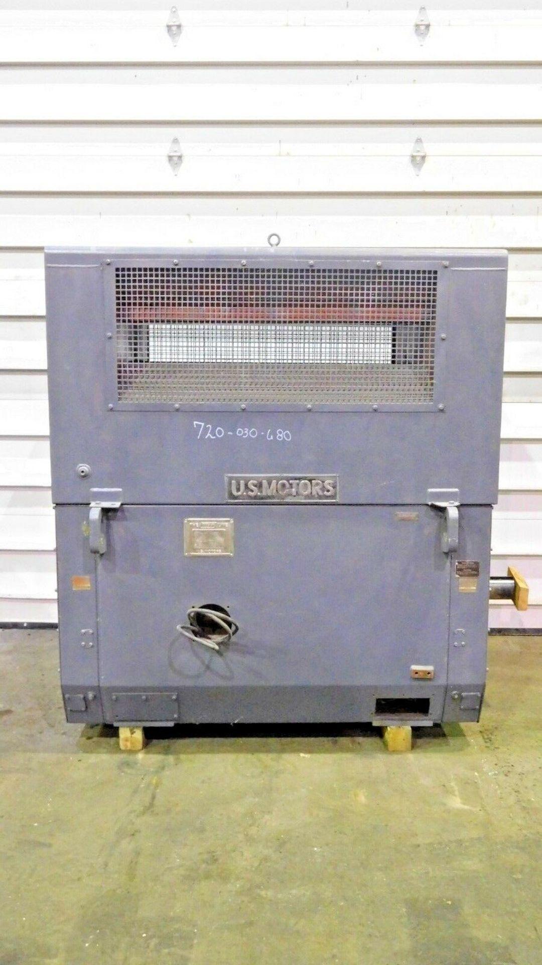 US Motors 600 HP Electric Motor. 890 RPM. 4000 V. 6809S. Type MS. 60 Hz. 3 Ph. - Image 2 of 5