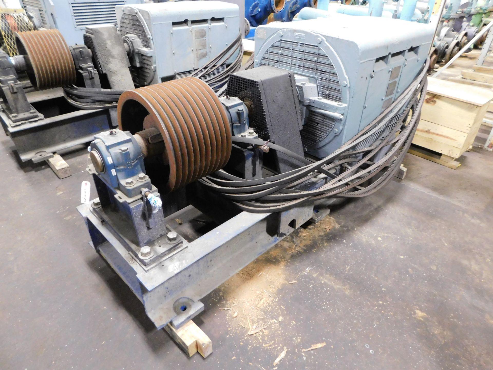 Teco Westinghouse Motor. 400 HP. 3 Ph. 1180 RPM. 4000 V. 60 Hz. 5808L. HSW1. - Image 2 of 6