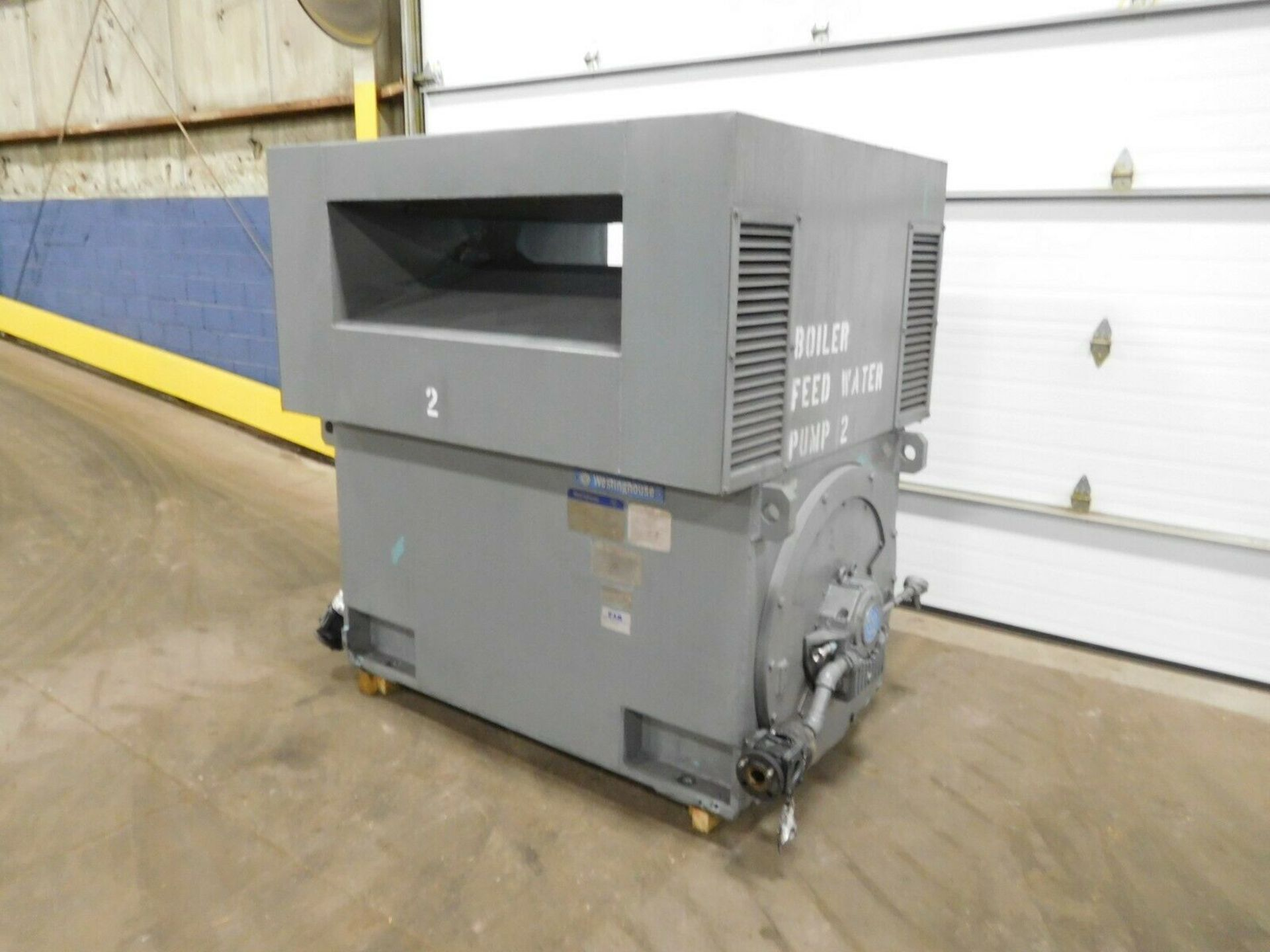 Westinghouse World Series Induction Motor. 2000 HP. 3 Ph. 3565 RPM. 4160 V. 60 Hz. 4512. - Image 4 of 5