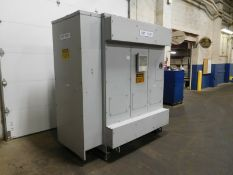 GE 750/1000 KVA Dry Type Transformer. 2400-480Y/277 V. 3 Ph. Class AA.