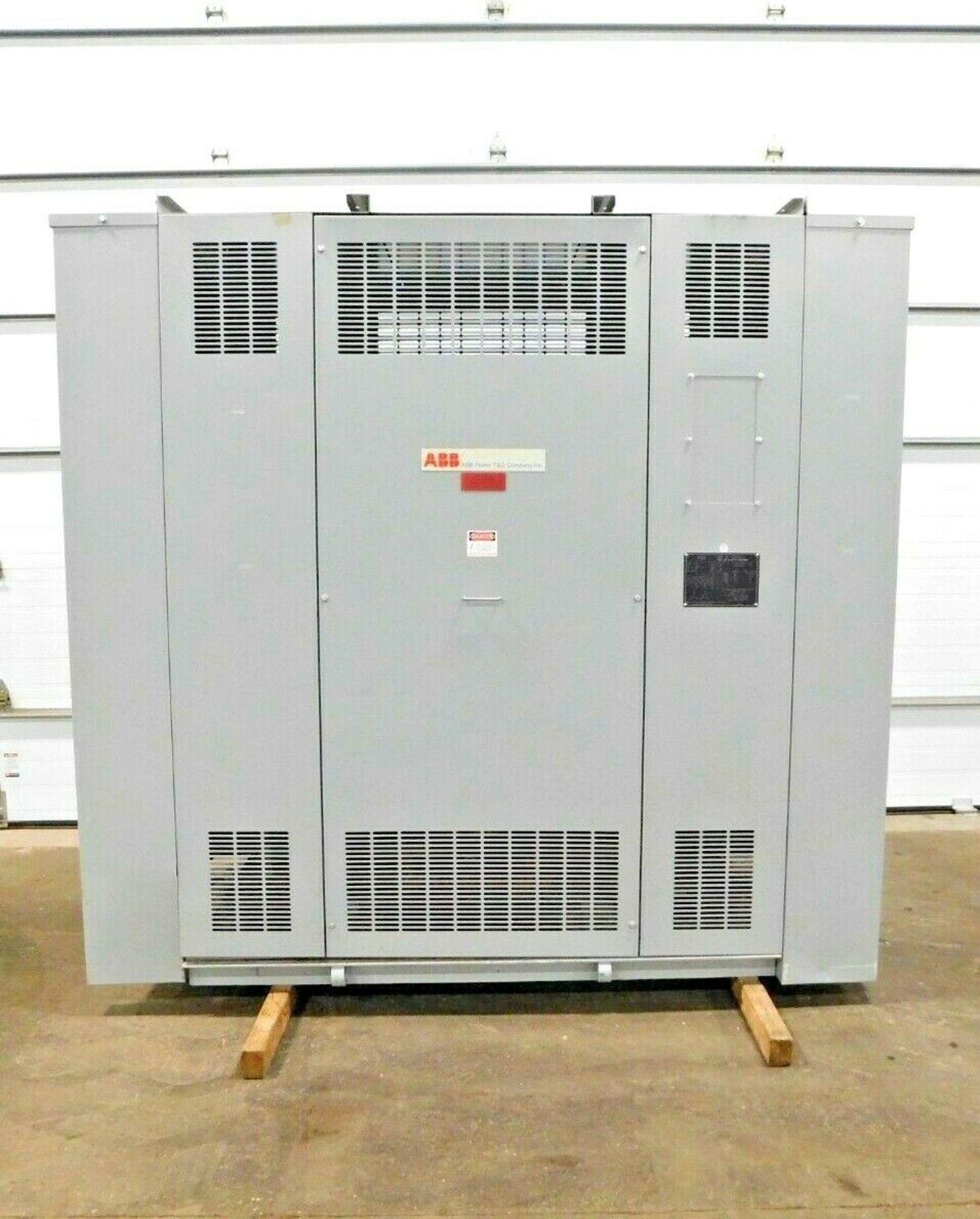 ABB 500 KVA Dry Type Transformer. 3 Ph. 4160 HV. 480 LV. 60 Hz.