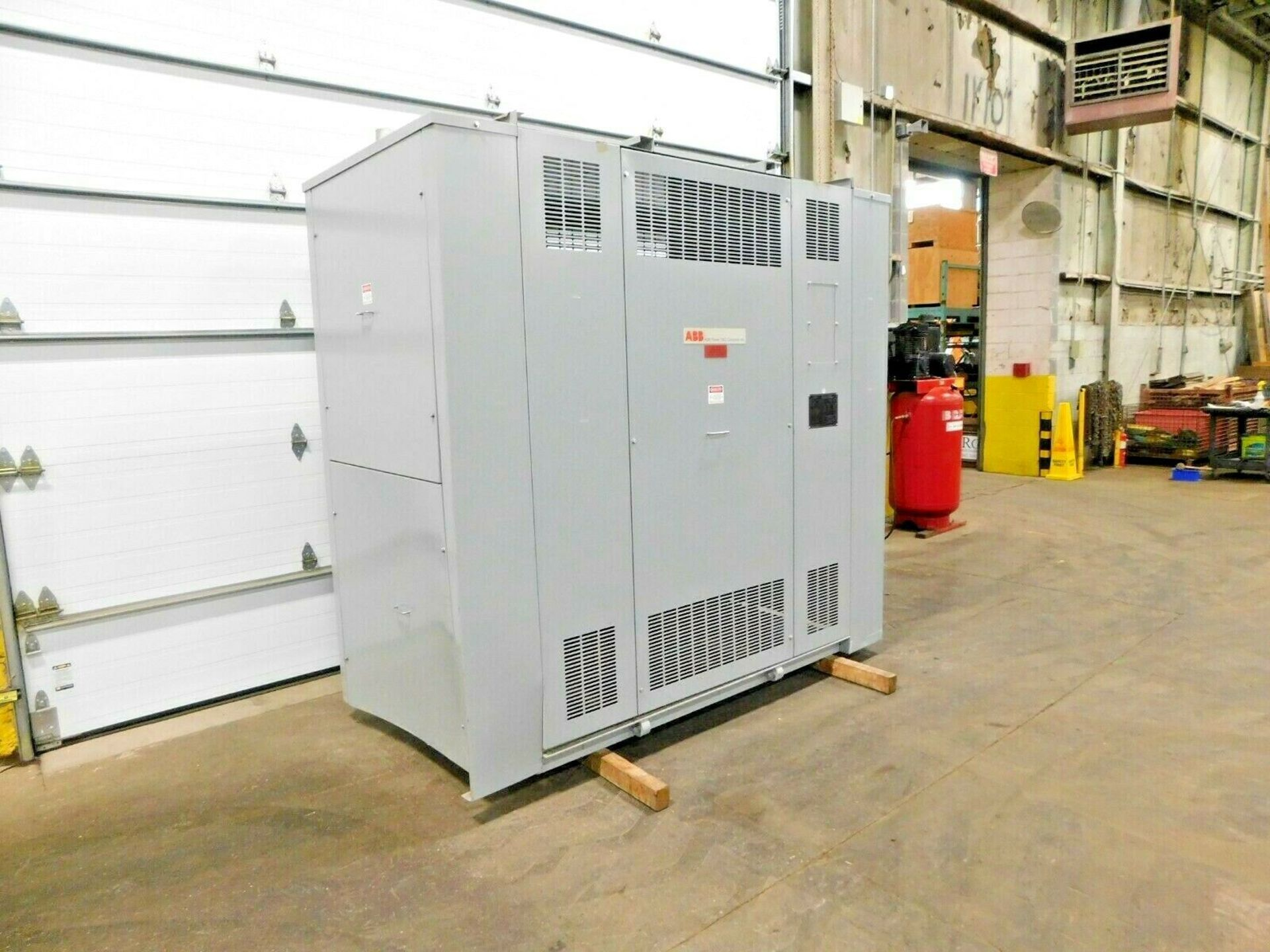 ABB 500 KVA Dry Type Transformer. 3 Ph. 4160 HV. 480 LV. 60 Hz. - Image 2 of 5