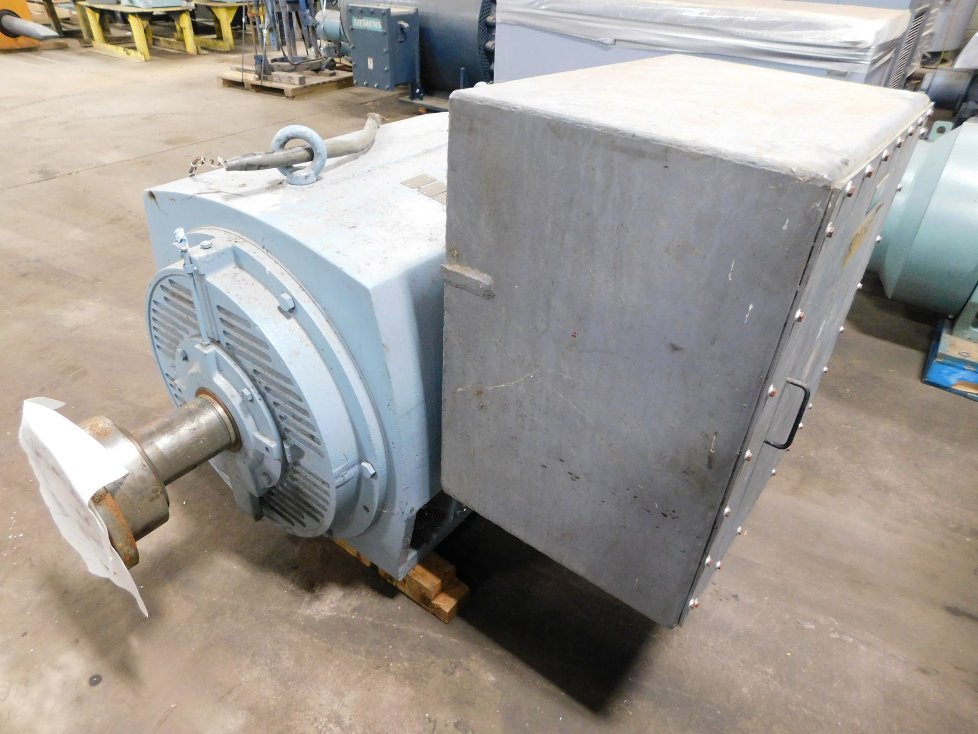 Teco Induction Motor. 600 HP. 3 Ph. 2300/4160 V. 60 Hz. 1780 RPM. 5808B. ASHA-PA001. - Image 2 of 6