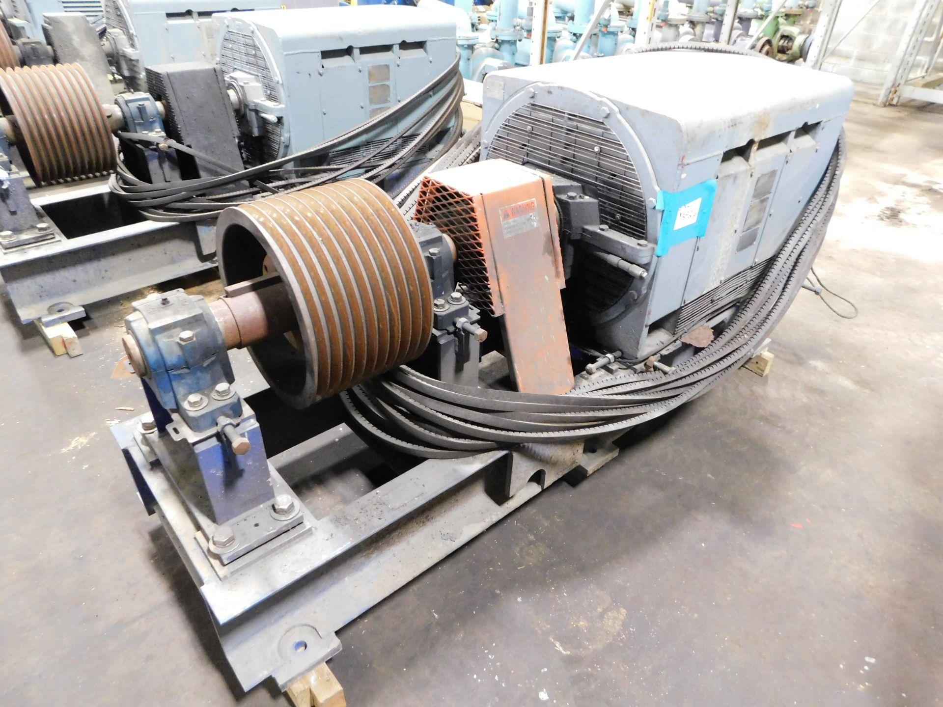 Teco Westinghouse Motor. 400 HP. 3 Ph. 1180 RPM. 4000 V. 60 Hz. 5808L. HSW1. - Image 2 of 7