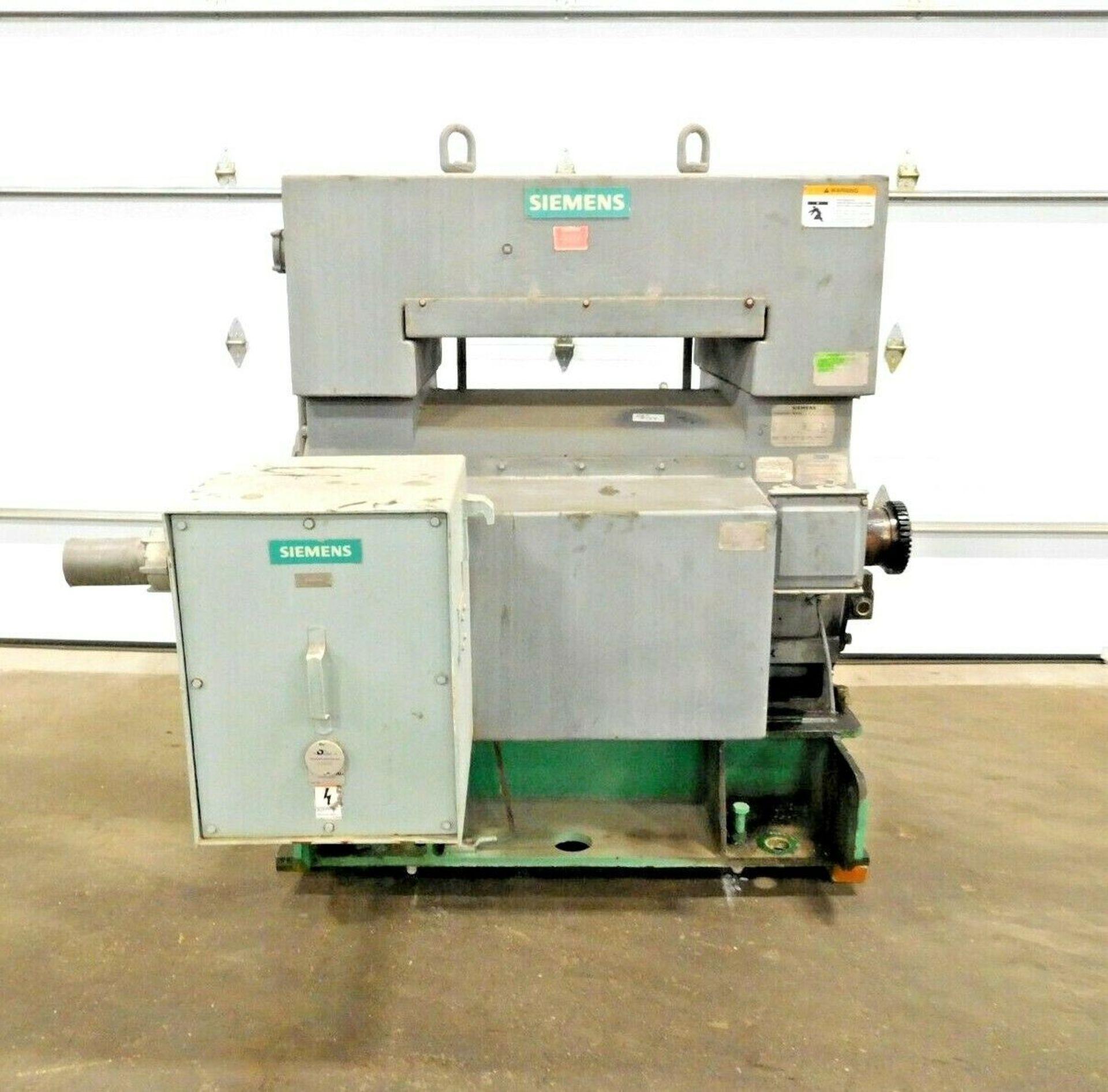 Siemens 1100 HP Electric Motor. 4000 V. 3 Ph. 1783 RPM. CGII. 5810S. 60 Hz.