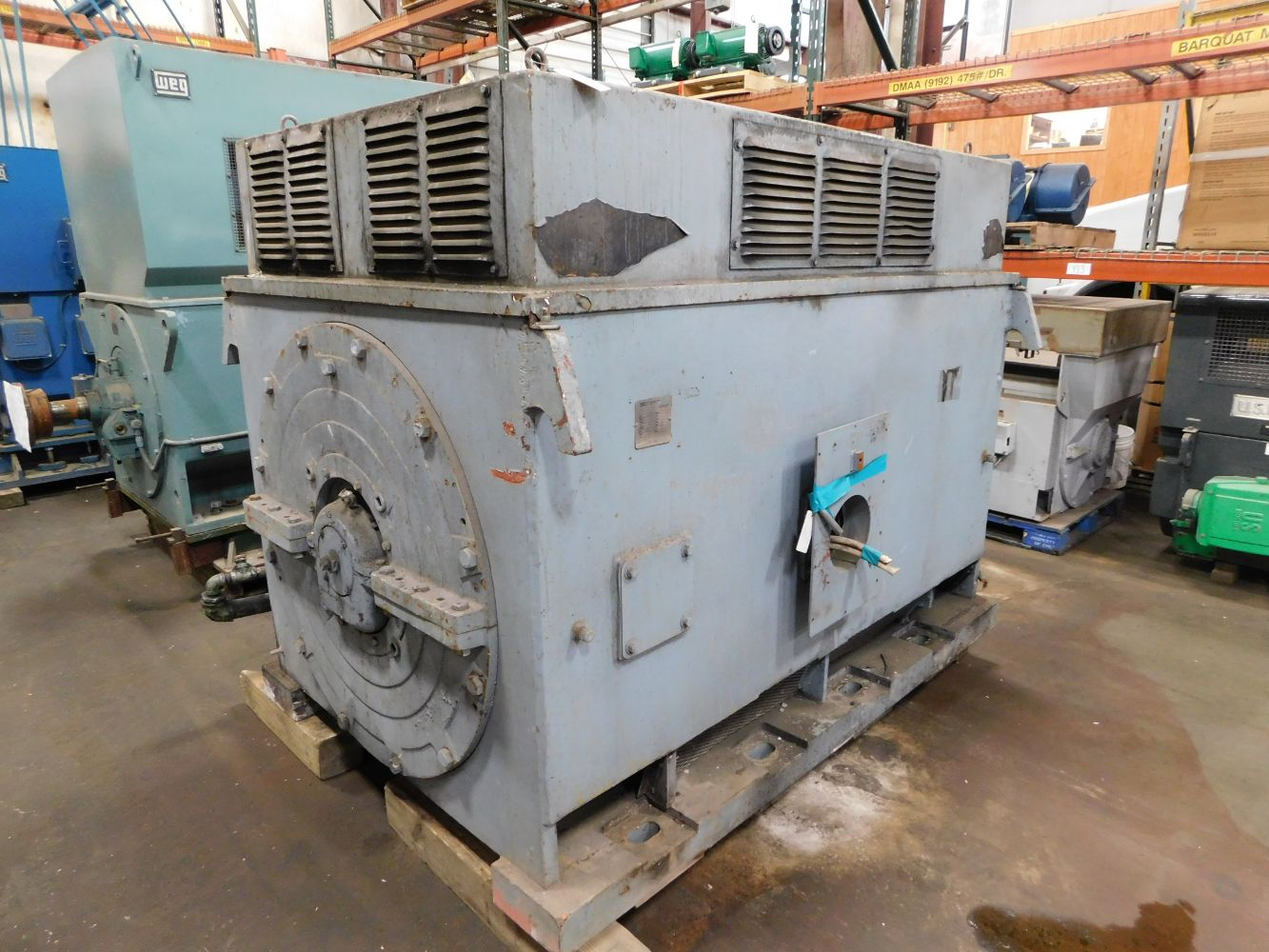 Large Electrical Motor and Transformer Auction from Leading Companies