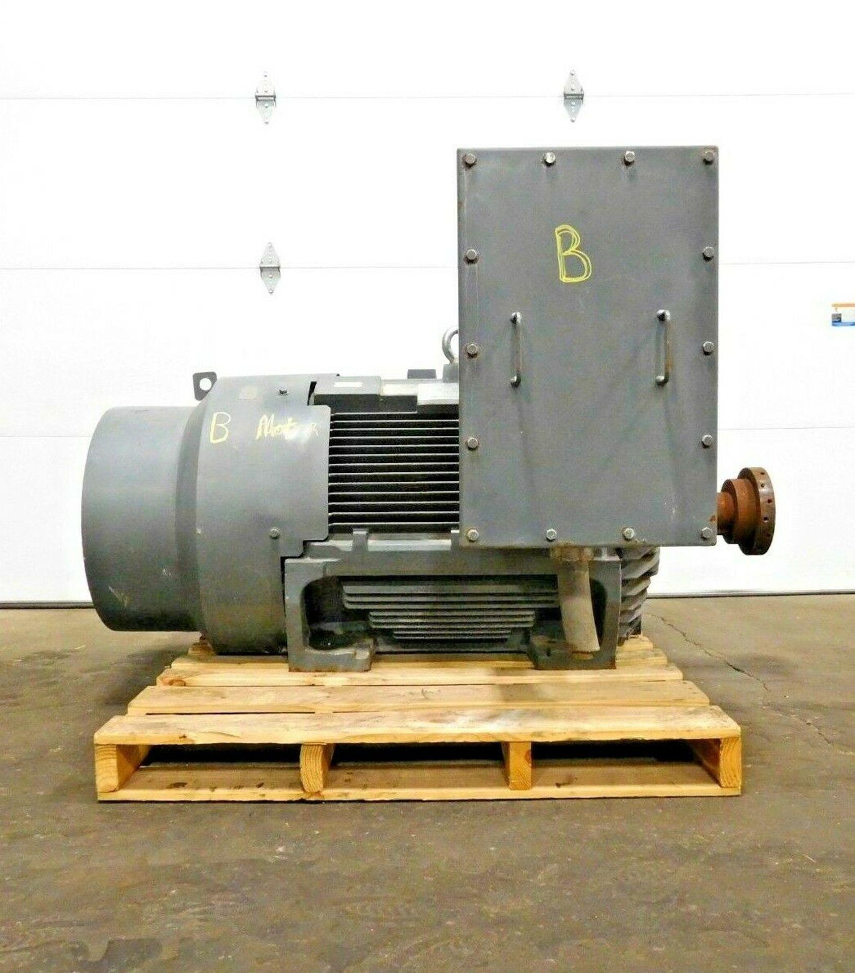 Teco Westinghouse KG2504 Motor. 250 HP. 1780 RPM. 4000 V. 5007B. TEFC. 60 Hz. 3 Ph. AEHGTK.