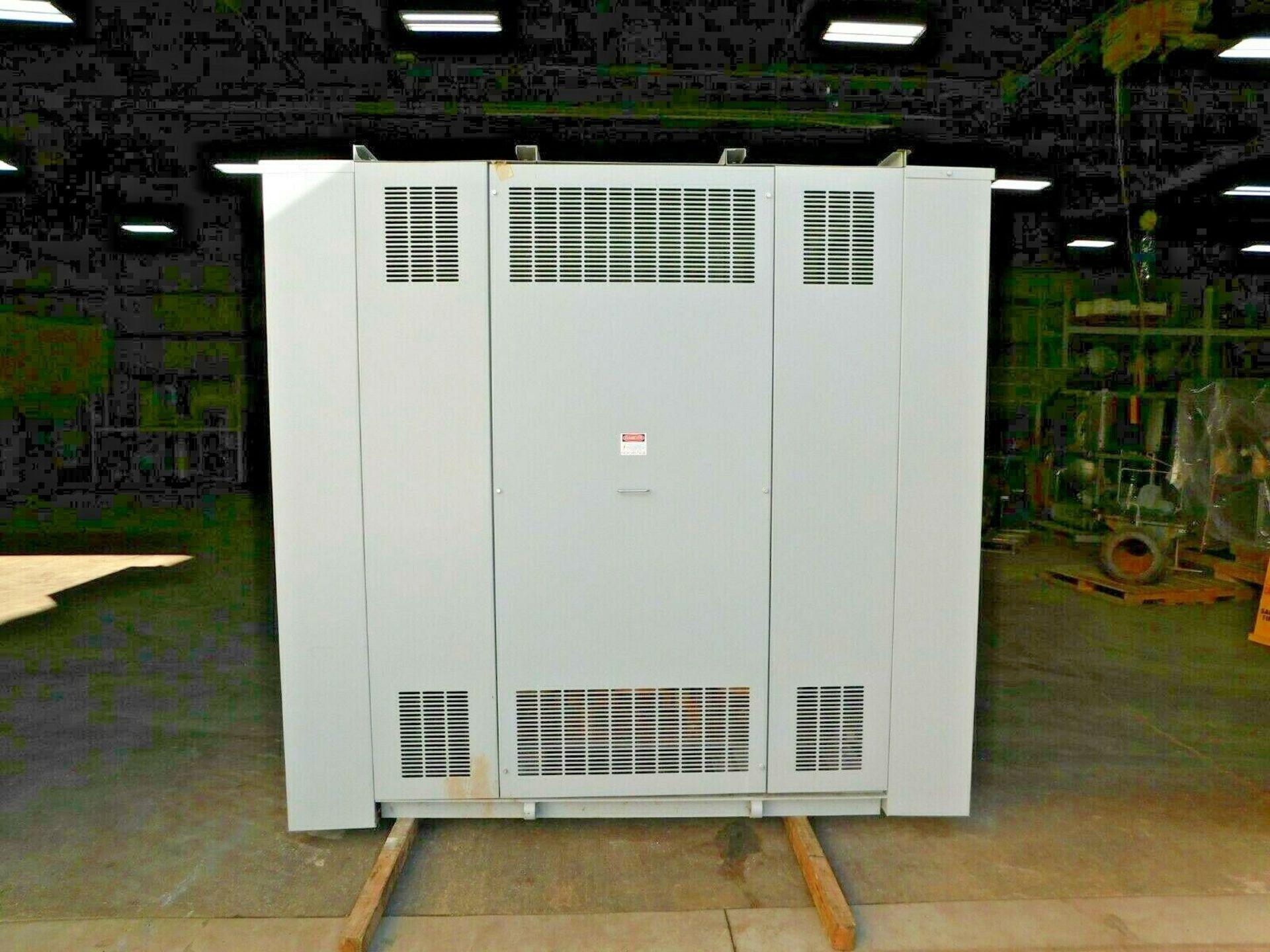 ABB 500 KVA Dry Type Transformer. 3 Ph. 4160 HV. 480 LV. 60 Hz. - Image 4 of 5