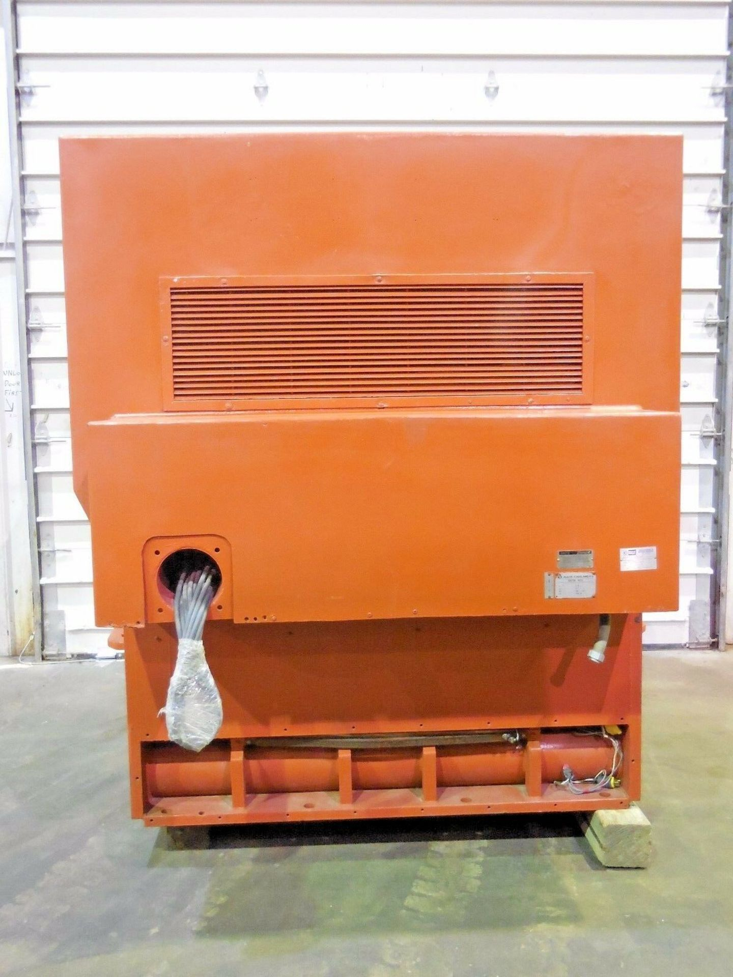 Allis Chalmers 3000 HP Induction Motor. 3572 RPM. 4000 V. Type ANW. 3 Ph. 60 Hz.