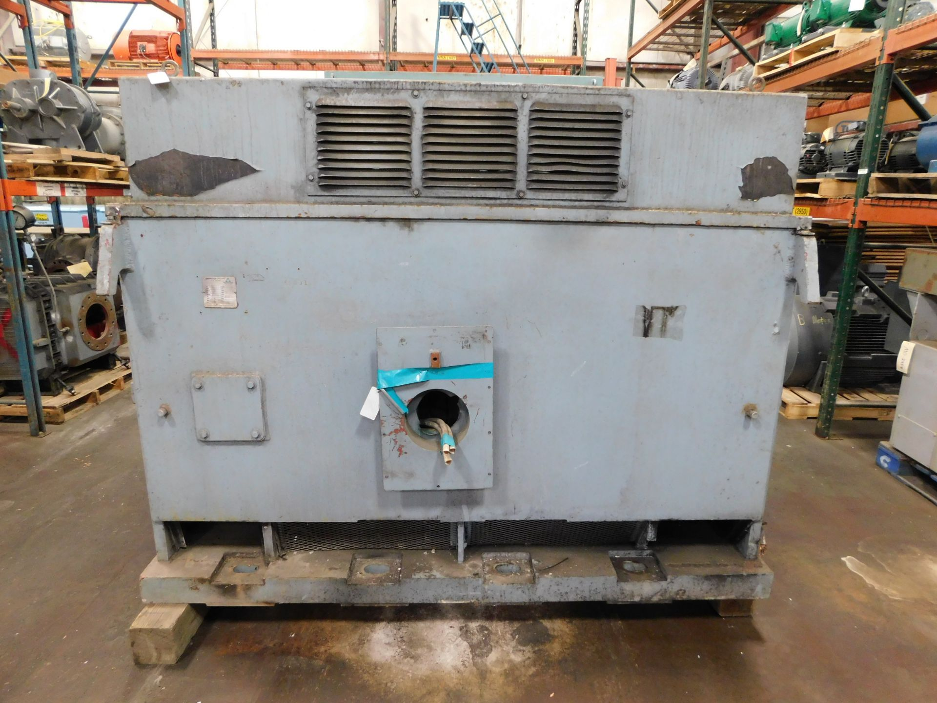 Louis Allis IPS Induction Motor. 2500 HP. 3 Ph. 4000 V. 3590 RPM. WP-1. 1000 SPC. - Image 4 of 5