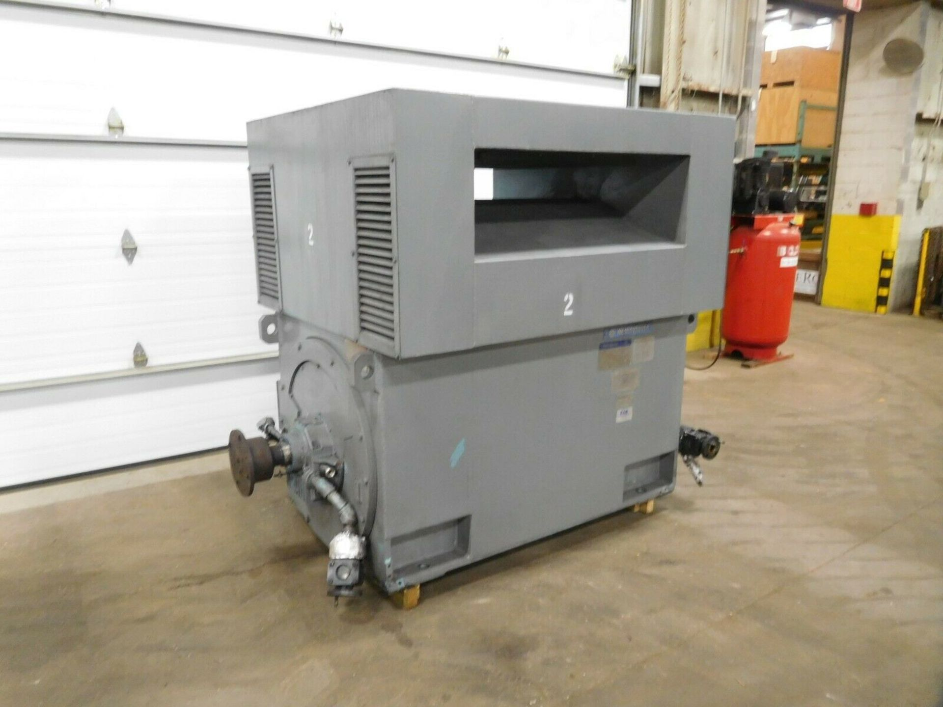 Westinghouse World Series Induction Motor. 2000 HP. 3 Ph. 3565 RPM. 4160 V. 60 Hz. 4512. - Image 3 of 5
