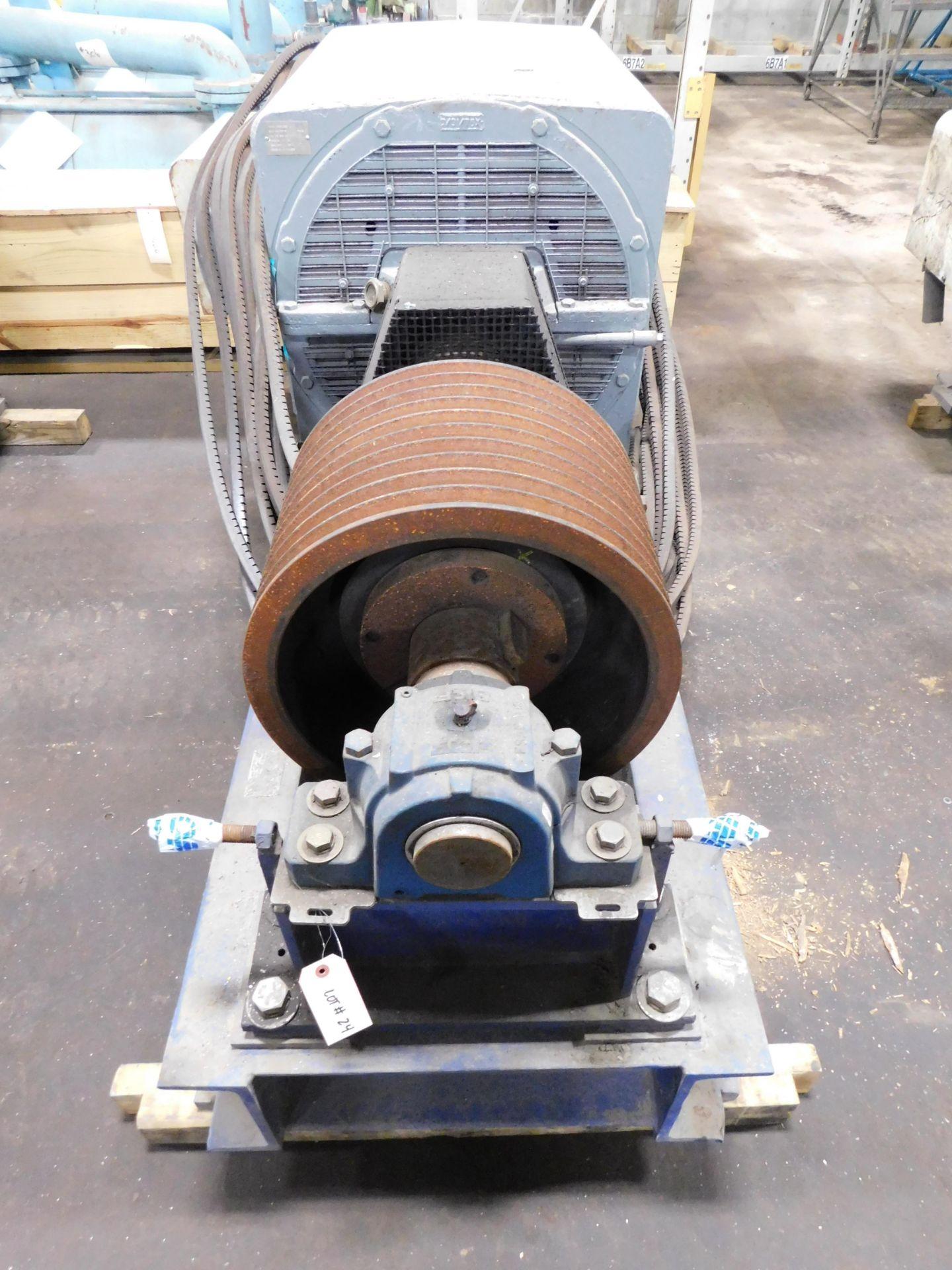Teco Westinghouse Motor. 400 HP. 3 Ph. 1180 RPM. 4000 V. 60 Hz. 5808L. HSW1. - Image 3 of 6