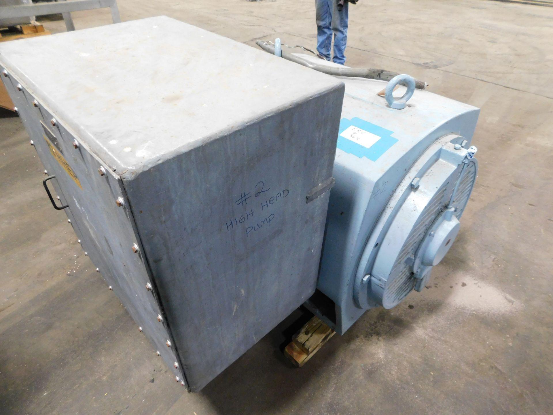 Teco Induction Motor. 600 HP. 3 Ph. 2300/4160 V. 60 Hz. 1780 RPM. 5808B. ASHA-PA001. - Image 4 of 6