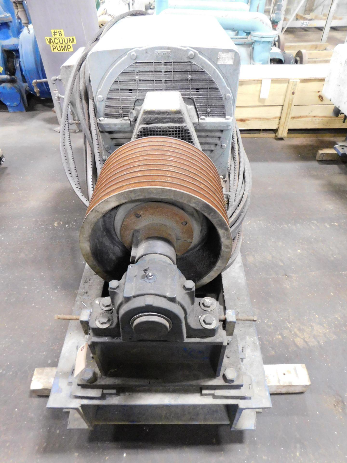 Teco Westinghouse Motor. 400 HP. 3 Ph. 1180 RPM. 4000 V. 60 Hz. 5808L. HSW1. - Image 2 of 5