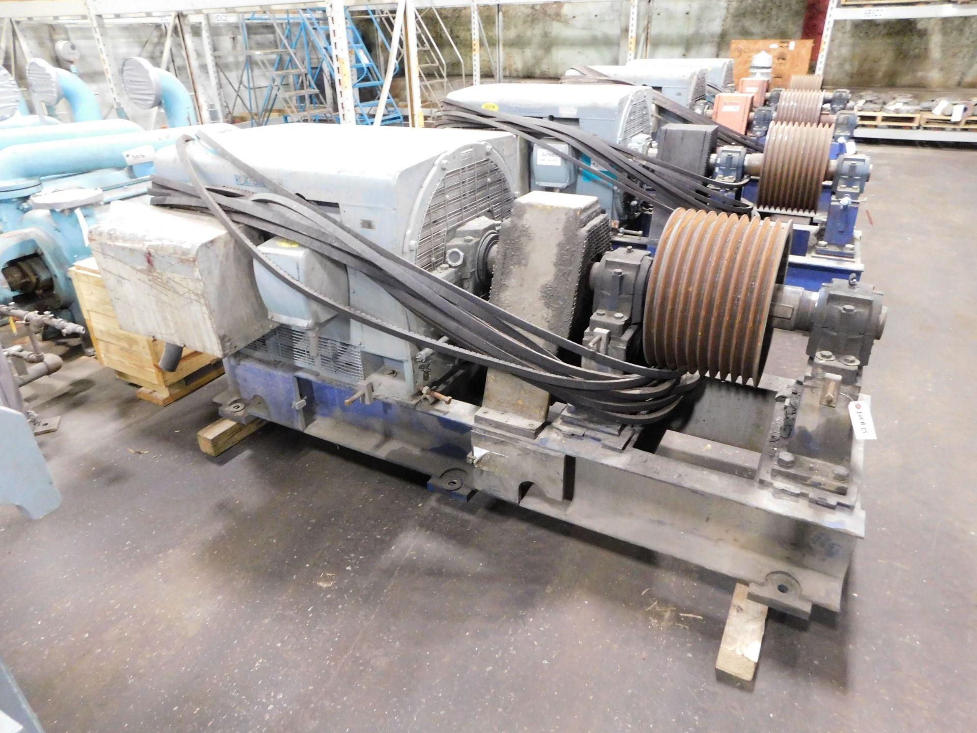 Teco Westinghouse Motor. 400 HP. 3 Ph. 1180 RPM. 4000 V. 60 Hz. 5808L. HSW1.