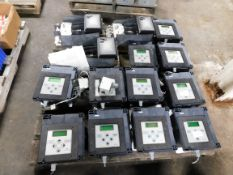 Pallet of Asco Controllers and GE Surge Suppressors