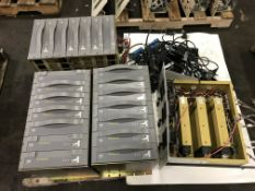 Pallet of Valmet Metso Automation Power Supply Rack - (15) APS002