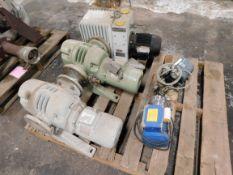 Pallet of Vacuum Pumps - Leybold, Pfeiffer, etc.