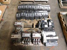 Pallet of Circuit Breakers and Contactors