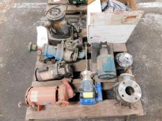 Pallet of Miscellaneous Centrifugal Pumps - Greenlee, ITT, Bell Gossett, Flowserve, etc.