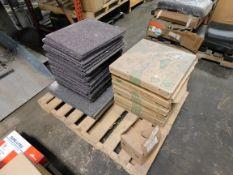 Pallet of Unused Carpet Squares