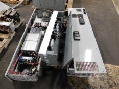 Lot of (2) Allen Bradley Power Flex 700 Drive MCC Buckets. 1000 A Breaker. (1) CH Eaton 125A MCC.