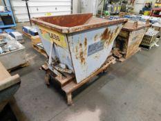 Dump Hopper on Wheels
