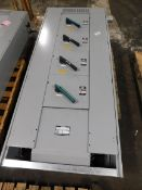Siemens Vacu-Break Switch Cabinet. (2) V7H2206LR - 600 A. (2) V7H2205LR - 400 A.